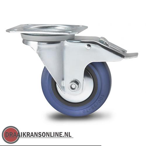 Uitzonderlijk Heavy Duty zwenkwielen met rem - Draaikransen-online, het adres KB46